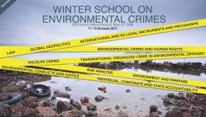 Winter school environmental crimes 2017