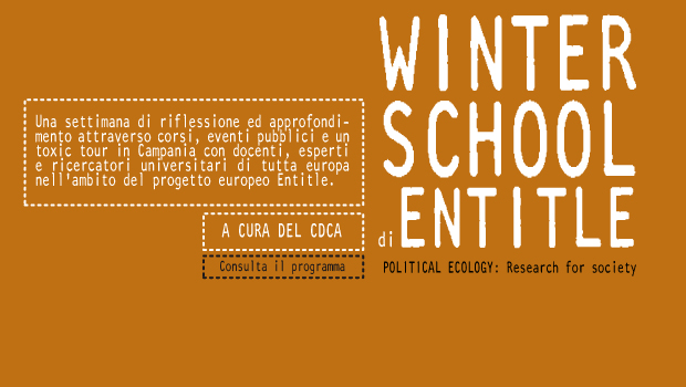 WINTER SCHOOL ENTITLE | Political Ecology And Research For Society