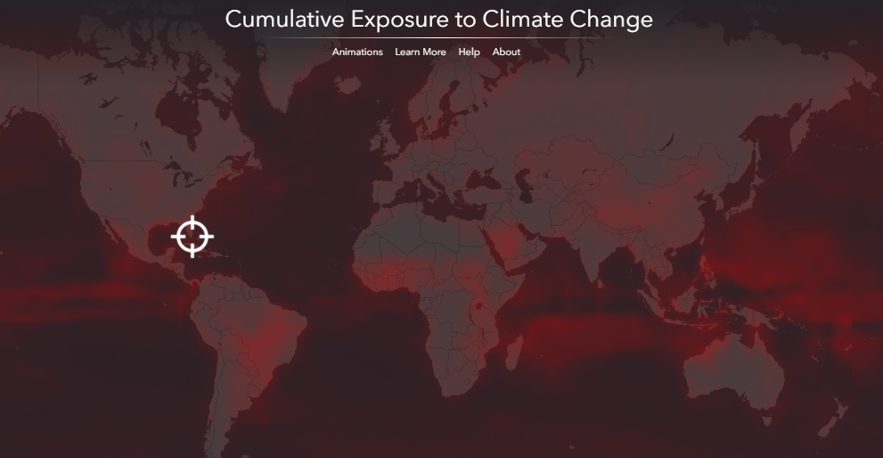 Cumulative Exposure To Climate Change – La Mappa